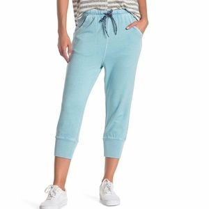 Free People Cropped Sweats with Drawstring Waist